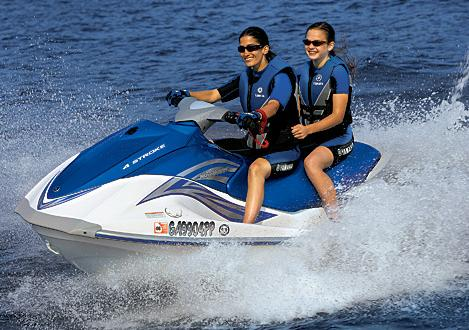 Fun-filled Waverunners for rent at Briarcliff Marina Boat Rentals